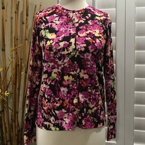 Charter Club Women's Floral Cardigan